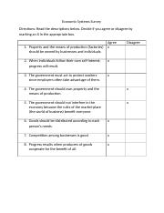 Economic Systems Survey.docx