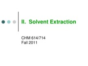 02 Solvent Extraction