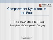 Compartment Syndrome of the Foot-1