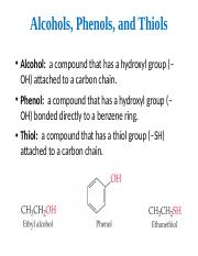13+Alcohols,+Phenols,+Thiols,+and+Ethers.pptx