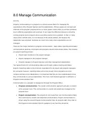 Project Management_Controlling Phase_Communication Management