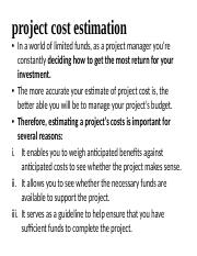 project cost estimation.pptx