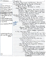 The Writing Requirements and Elective Records Notes