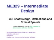 C3-Shaft  Deflections  and Critical Speeds - Post (2)