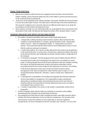 Chapter 3 Notes Audit Notes.docx