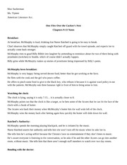 Chapters 9-11 Notes