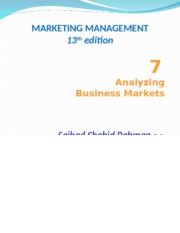 Marketing Management (Chapter 7)3