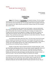 Sarah Kearney The Outsiders Essay- Final Draft.docx
