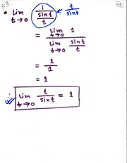 MATH 111 Limit Excercise - Cosine Notes