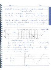 lecture 2. Simple Harmonic Motion (SHM)
