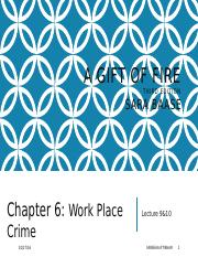 W5-WorkPlaceCrime-Lecture9&10