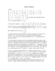 Math 127 Solutions 7