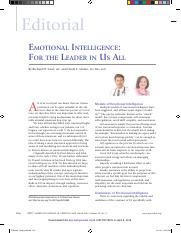 Emotional Intelligence- For the Leader in Us All.pdf