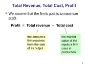 ECO 1001 - Firm Costs