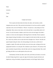 Compare and Construst Essay