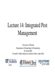 Lecture 14 - Integrated Pest Management.pdf
