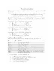 Biol 2401 - Anatomic Terminology worksheet