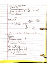 blood ressire notes