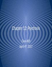 Lecture 20 - Psychosis II.pptx