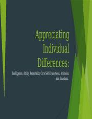 Appreciating Individual Differences.pptx