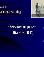 isolation of affect in ocd