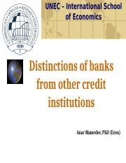 Distinctions of banks from other credit institutions (1).pptx