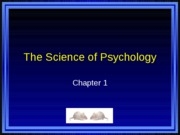 PSYC 101 Chapter 1 PowerPoints