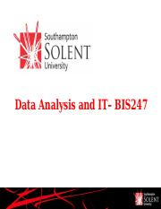 BIS247 Business Statistics.ppt