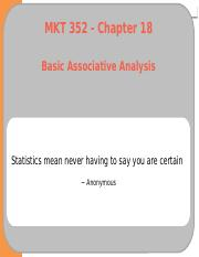 13 - Ch18 - Basic Associative Analysis.pptx