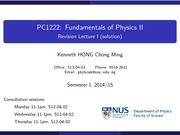 PC1222-2014-RevisionLecture-01-Solution