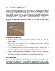 CHAP 3.5 RESERVOIR  SEDIMENTATION