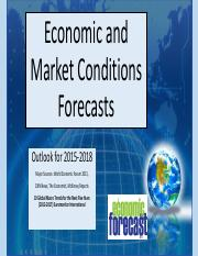 FALL 2016 FUTURE OUTLOOK Economic and Market Conditions NI 310