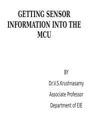 UNIT-II Sensor info into MCU.ppt