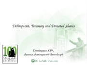 07 Delinquent, Treasury and Donated Shares (1)
