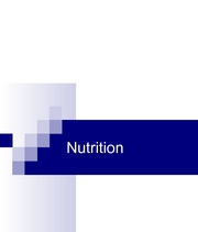 nutrition fall  part 1