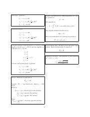 Equation sheet (Chapters 1,2,4,5,6,7,8,11)