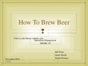 Beer Group Project