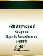 Chapter 14 Leadership(1)