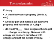 eml 3100 entropy and power cycles