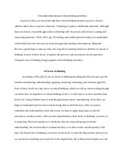 The English Lesson as a Site for the Development of Critical Thinking   pages Overview of the CWE assessment
