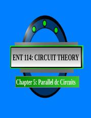 Chapter 5_Parallel DC circuit