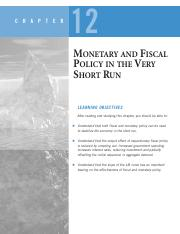 Book_MONETARY AND FISCAL policy in short sun