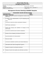 15.3.3 Managment Review Meetings Agenda & Minutes Template.doc