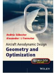 Wiley, Aircraft Aerodynamics Design Geometry and Optimization