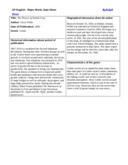 major works data sheet wuthering heights page 4 Wuthering heights data sheet directions: fill out the following completely it is due on the first day of school please read the novels before completing.