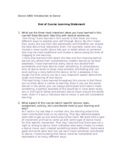 End of course learning statement Dance 1000.docx