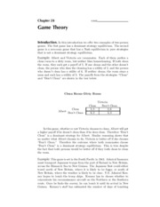 28. Game Theory - Solutions