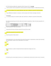 CHapter 3 Test - All of the following statements regarding ...