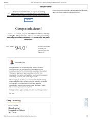 New Venture Finance_ Startup Funding for Entrepreneurs _ Coursera - Finished Course