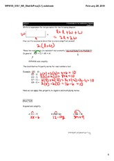 Polys and Distributive Property